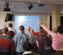 Lobpreis – beim Michael Pierce Seminar
